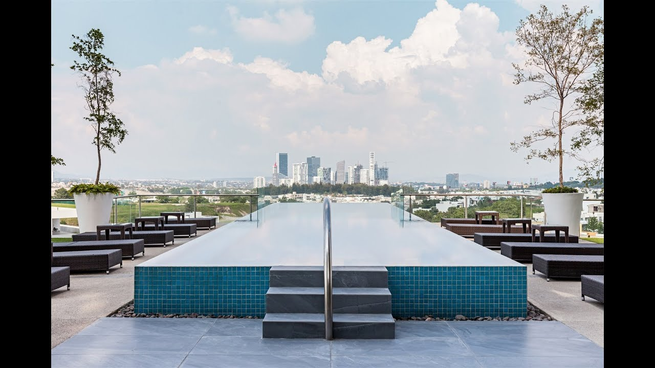Private Penthouse With Panoramic Views In Zapopan Jalisco Mexico - Modern-penthouse-by-altus-architecture-design