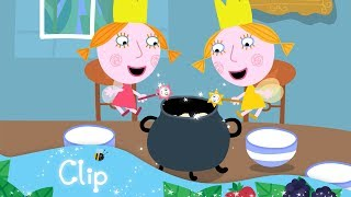 Ben and Holly's Little Kingdom - Daisy and Poppy make breakfast