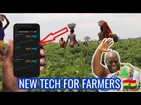 Ghana Farmers Can Now Trade Their Food Crops online to End Food Spoilage