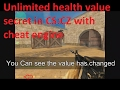 How to hack Counter Strike Condition Zero Full Tutorial by cheat engine with proof