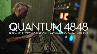 PreSonus—The Quantum 4848 Audio Interface