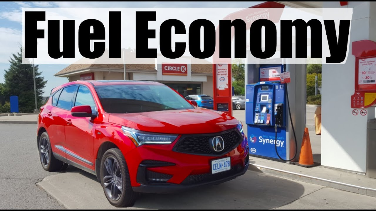 2019 acura rdx - fuel economy mpg review + fill up costs - youtube