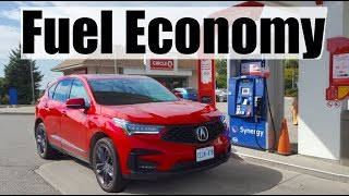 2019 Acura RDX - Fuel Economy MPG Review + Fill Up Costs