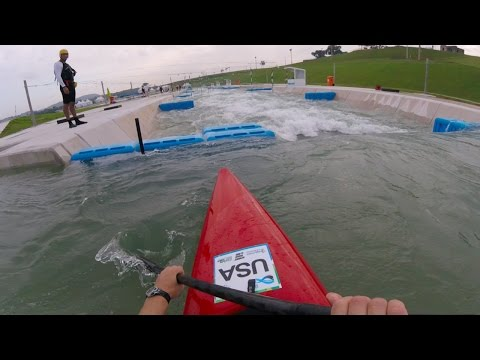 Rio Olympic Whitewater Course First Look