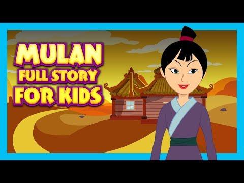 MULAN - FULL STORY FOR KIDS || BEST BEDTIME STORIES FOR KIDS