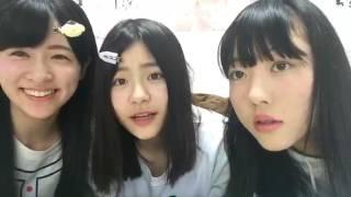 村雲颯香・清司麗菜・日下部愛菜さんコラボ配信です!(2/3) 次の動...