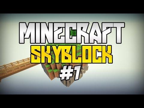 """Minecraft: SkyBlock [#1] - """"Ogólnie to..."""" ft Nikuś!"""