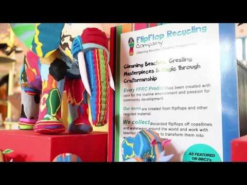 Ocean Sole: How to Turn FlipFlops into Art