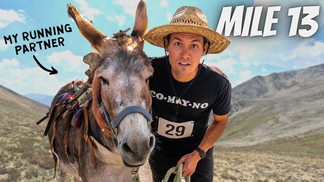 I RAN 13 MILES WITH A DONKEY (in America's highest city)