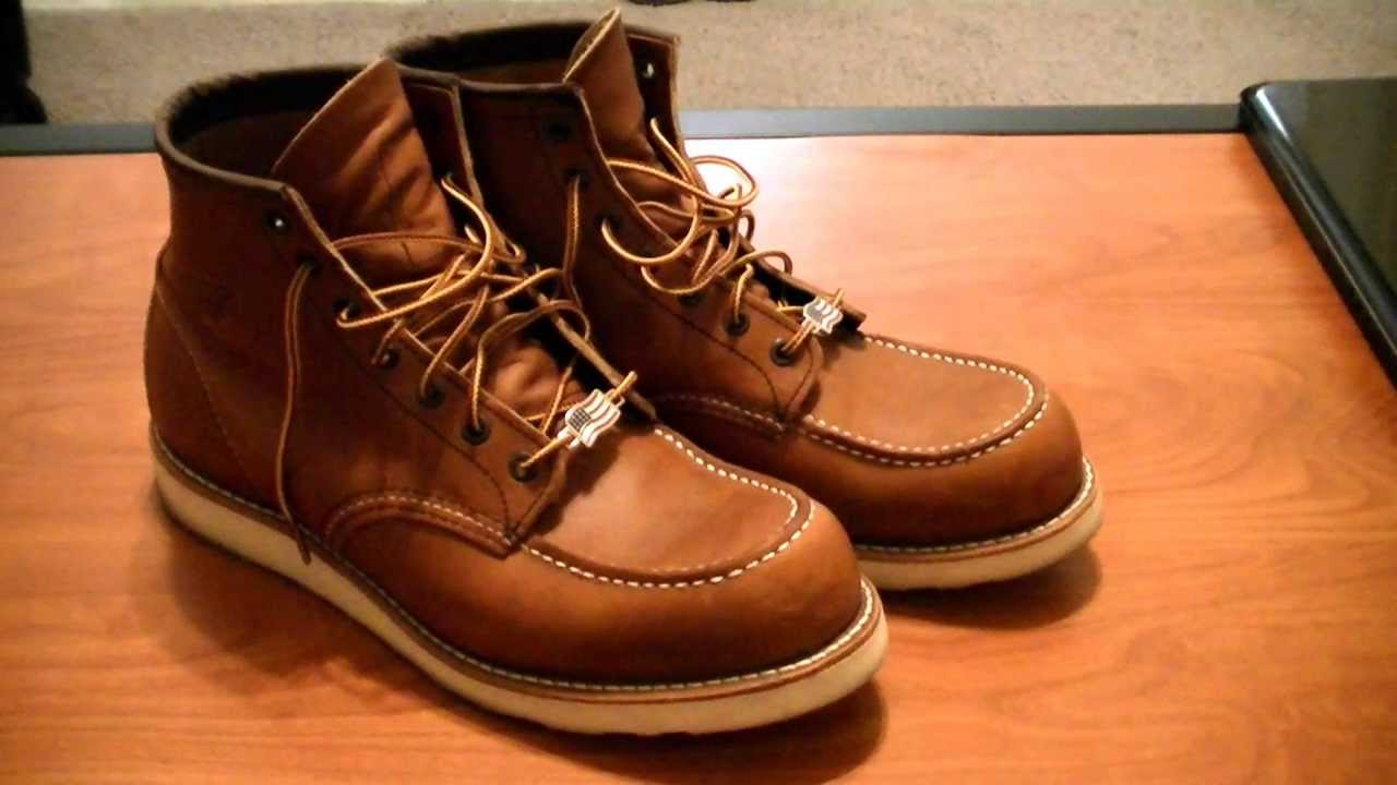 Red Wing Shoes 875/10875 Boot Overview - YouTube