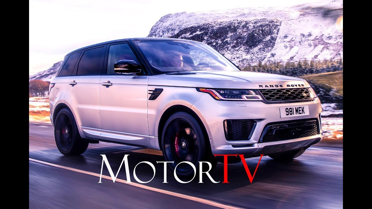 All new 2020 RANGE ROVER SPORT HST l Straight-Six Mild Hybrid With 395hp l Trailer