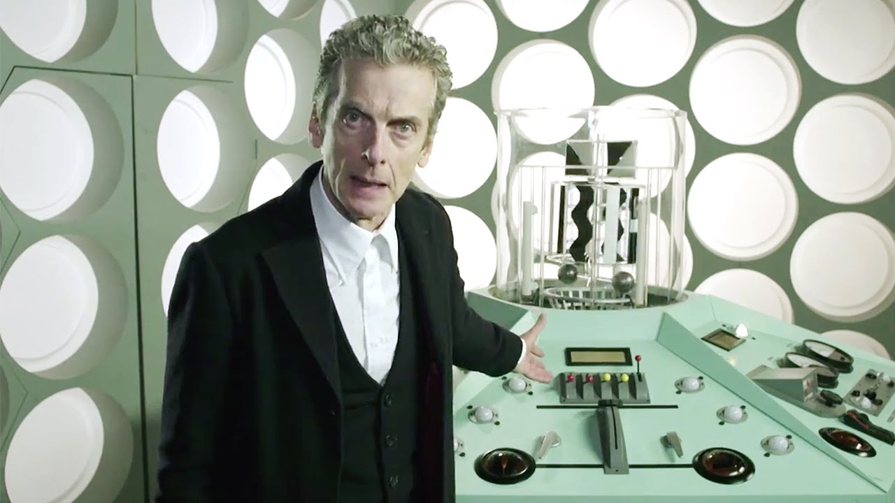 Download Twelfth Doctor in FIVE TARDIS Console Rooms!   The Doctor Who Experience   Doctor Who   BBC