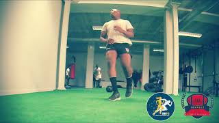 Power exercise for rugby forwards