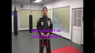Master Mohamad Tabatabai   Intro of American Kenpo Jiu Jitsu Video