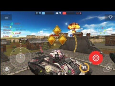Tanki Online Mobile - #16 - Rank UP first lieutenant