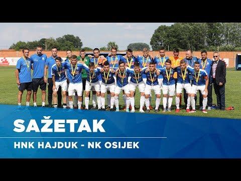 Sažetak: HNK Hajduk - NK Osijek