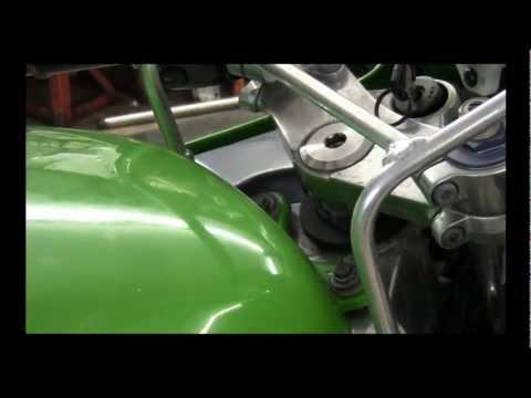 1998 Zx9 Kawasaki Tear Down Part 1
