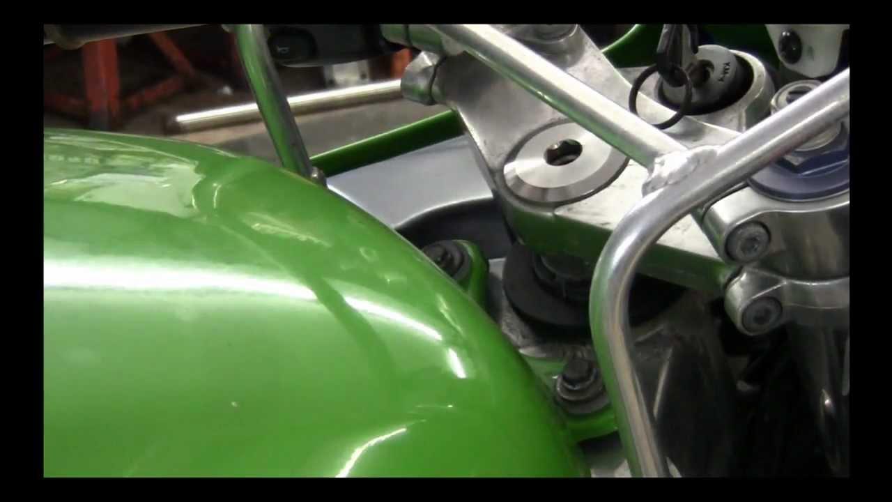 1998 Zx9 Kawasaki Tear Down Part 1  YouTube