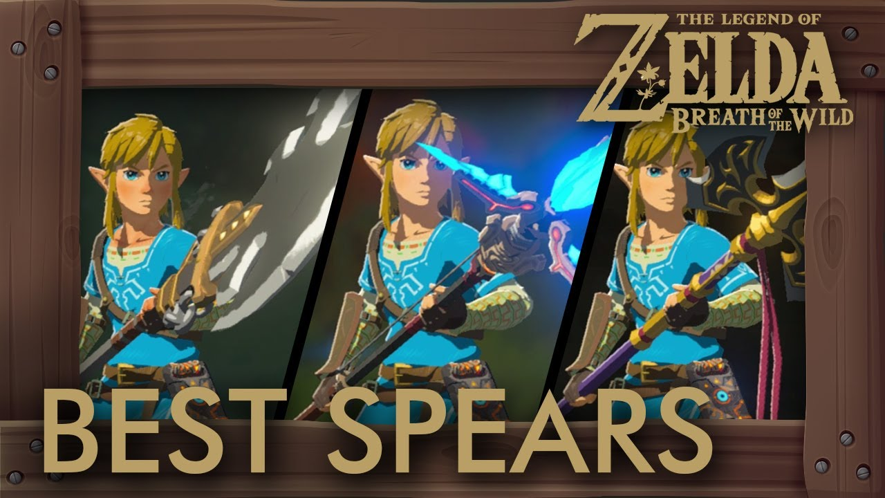 Best Weapons In Breath Of The Wild >> Zelda Breath of the Wild - Best Spears by Damage + Durability - YouTube