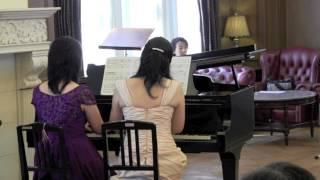 Tango #piano duo comp.by Julio del Sanders arr.Masanori IIDA 誰にで...