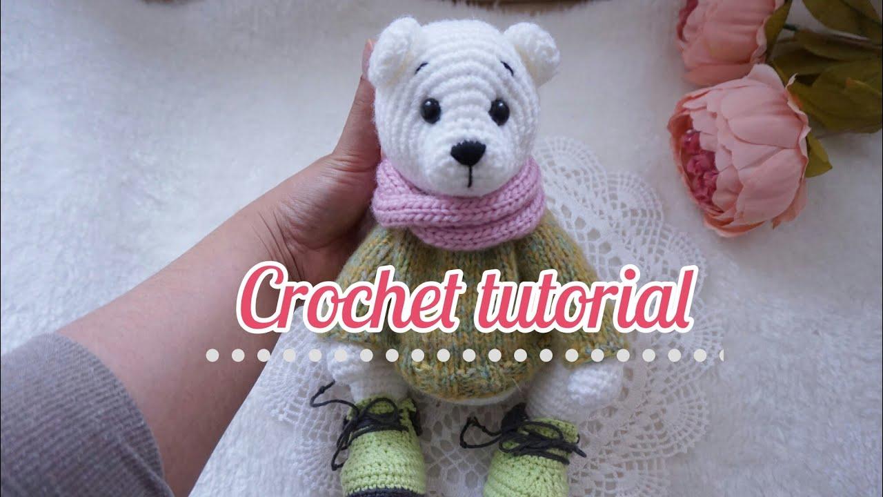 Loomigurumi Izzy Bizzy Doll - Jacket - hook only - amigurumi with ... | 720x1280