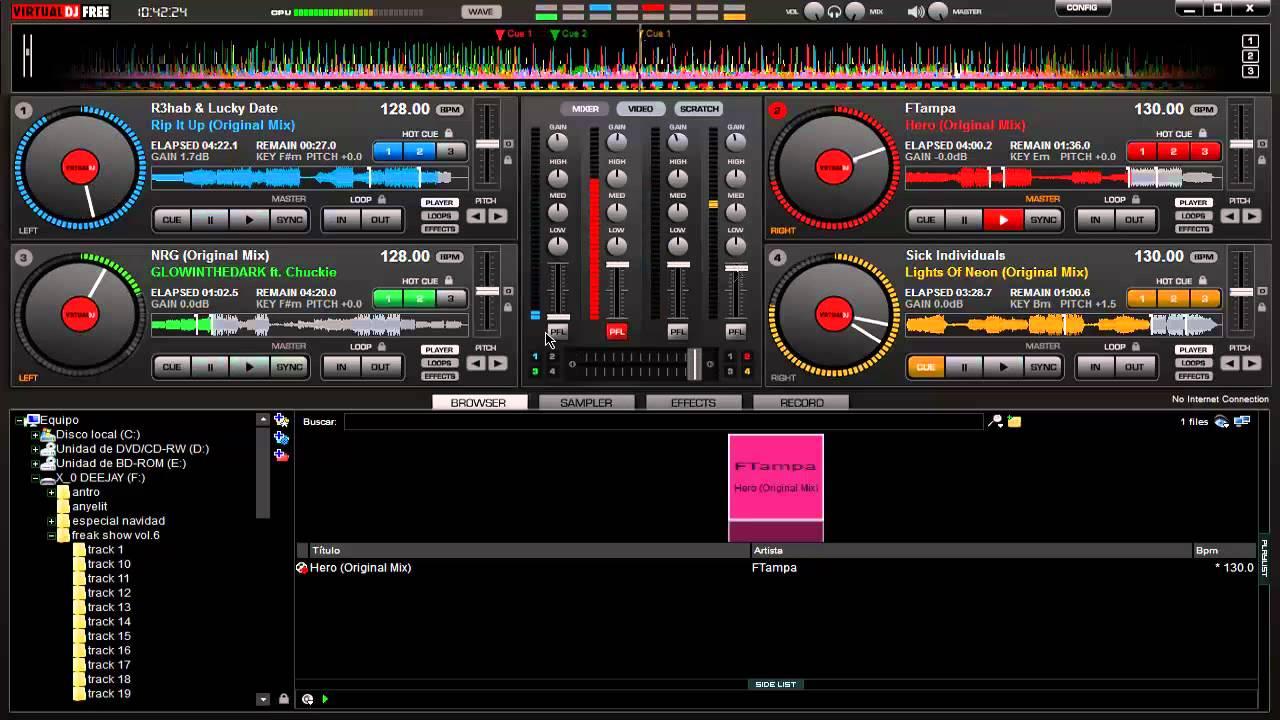 Virtual dj free download full version 2012   Virtual DJ 8 Pro Free