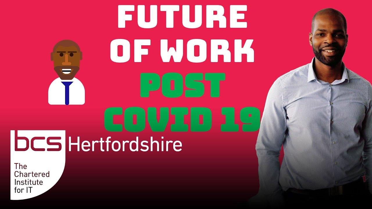 Future of Work Post Covid-19 Graphic
