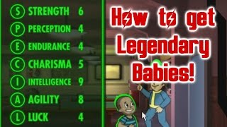 Fallout Shelter How to get Legendary Babies