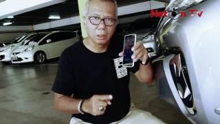 Extreme Review : Cadas....! Luna Smartphone Dilindas Mobil Fortuner Tetap Kokoh
