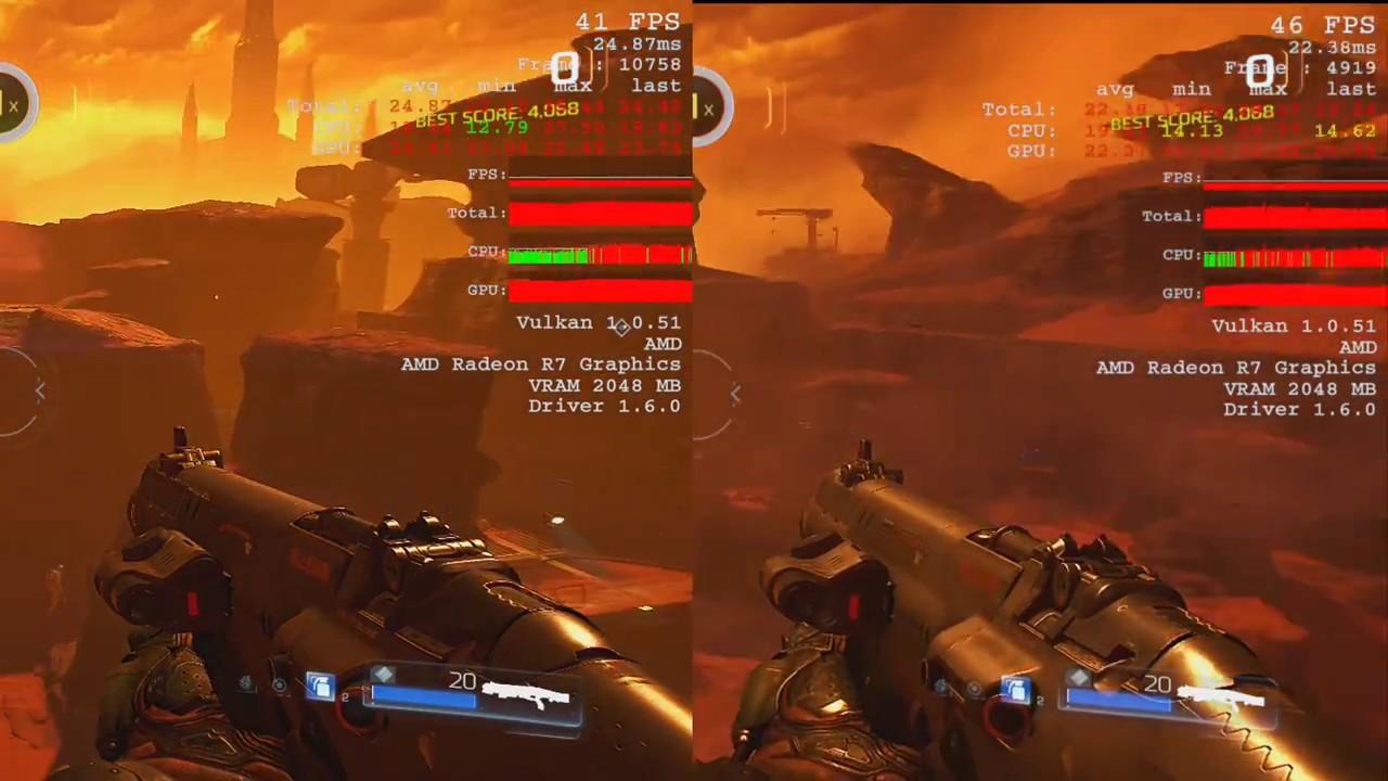 Bonus Doom Amd A8 9600 R7 Igpu Vs Amd A12 9800 R7 Igpu Youtube