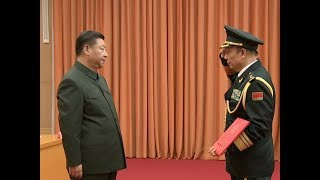 China Promotes Military Anti graft Chief to General