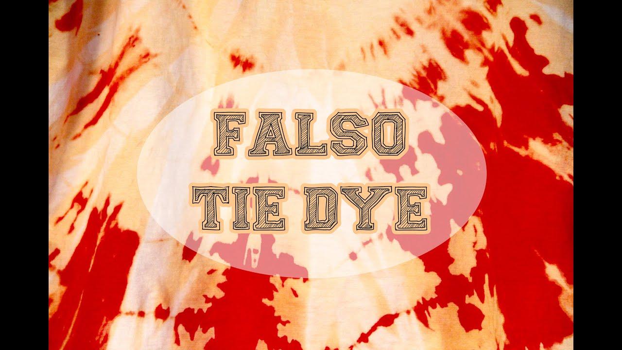 e6422d8324 Falso Tie-dye - YouTube