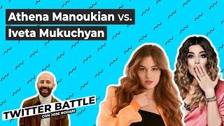 IVETA MUKUCHYAN Vs. ATHENA MANOUKIAN: Batalla ARMENIA | Twitter Battle (3x14)