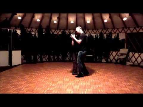 Pat Charmley & Campbell Miller - Blues Dance Demo Dec 2013
