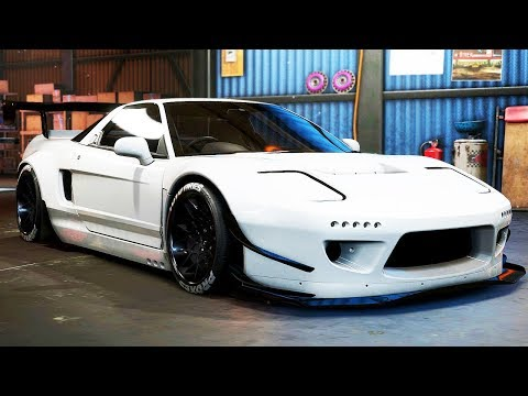 LIBERTY WALK HONDA NSX BUILD - Need for Speed: Payback - Part 74