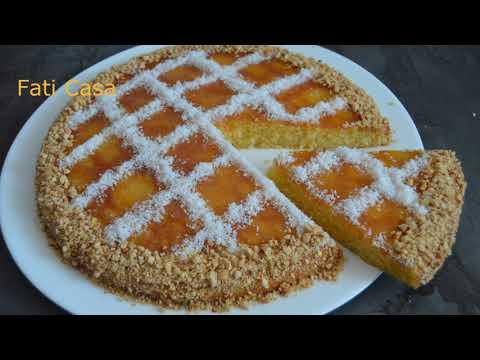 gâteau-semoule-fine-&-noix-de-coco-/-كيكة-بالسميد-و-جوز-الهند