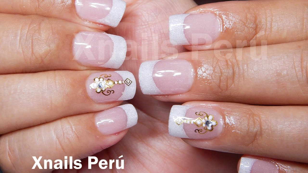 Uñas Acrílicas Francés Clásico En Sistema Dual Xnails Peru