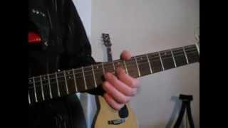 Песня Жени - Night angel  Из сериала Сваты - Соло на гитаре