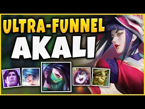 THIS NEW *ULTRA-FUNNEL* STRATEGY BROKE LEAGUE?!? THIS IS JUST NOT FAIR!!! - League of Legends thumbnail