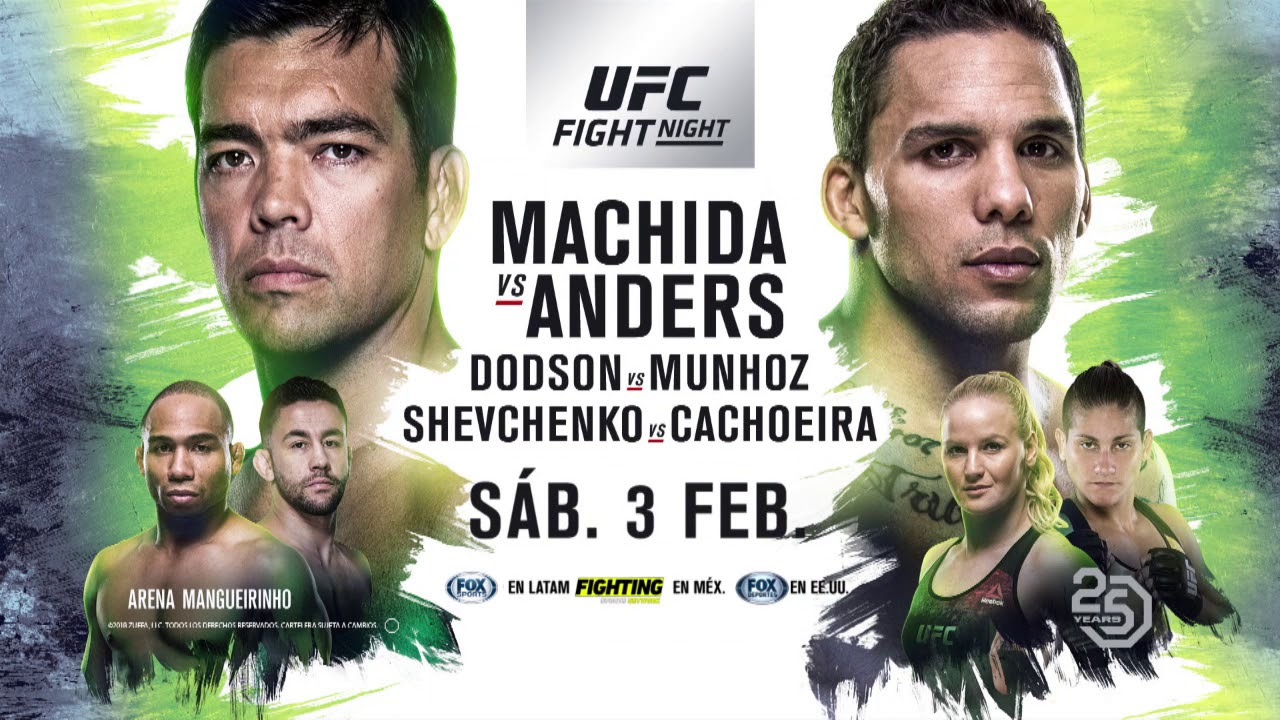 Resultado de imagen para UFC Fight Night: Machida vs. Anders