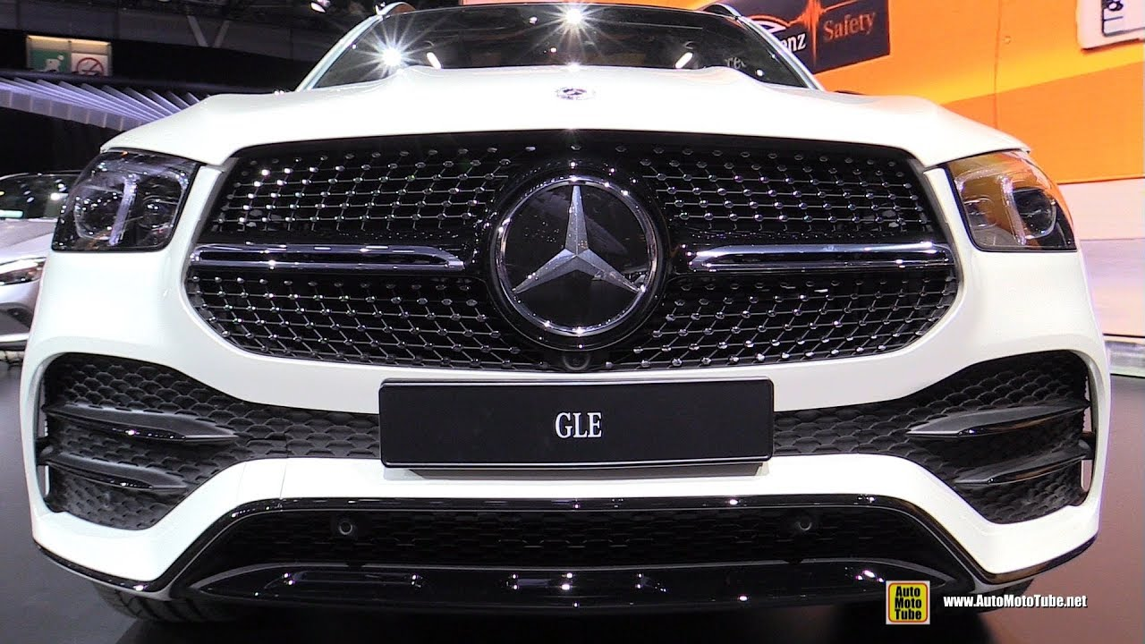 2020 Mercedes Gle Class Gle450 4matic Exterior Interior Walkaround Debut Paris Motor Show 2018