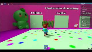 JULIA'S ROBLOX QUIZ MADE BY NAT