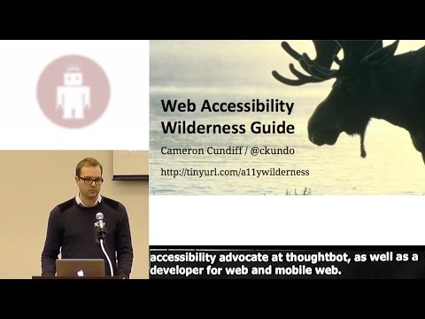 Web Accessibility Survival Guide