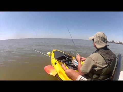 Kayak Fishing In San Leon, Texas