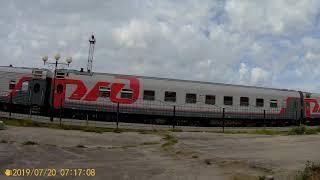 Вокзал в июле 2019 Йошкар-Ола