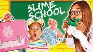 SLIME SCHOOL fournitures scolaires challenge 🎒📚🖍Verity vs la Maîtrise - New Toy School