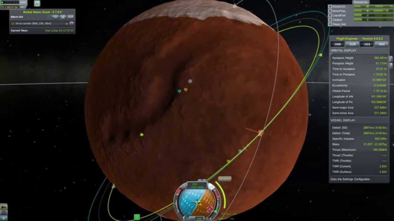 Kerbal Monolith Intercept: Duna Orbit Reversal and Rendevous