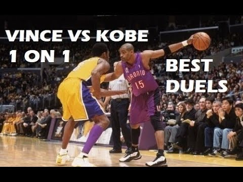 [HD] Kobe Bryant 1 on 1 with Vince Carter [BEST DUELS]