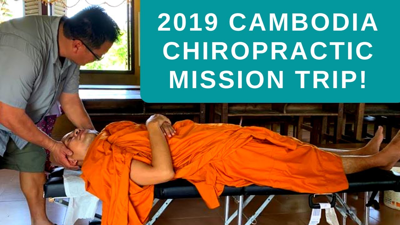 Metro Manila Chiropractor organized and led Chiropractic Outreach Program in Cambodia