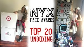 Top 20 Unboxing with JkissaMakeup - NYX Face Awards 2015